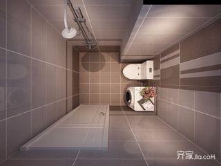 复式现代简约风格卫生间装修效果图