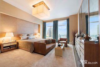 现代风格大户型卧室装修效果图
