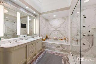 现代风格大户型卫生间装修效果图