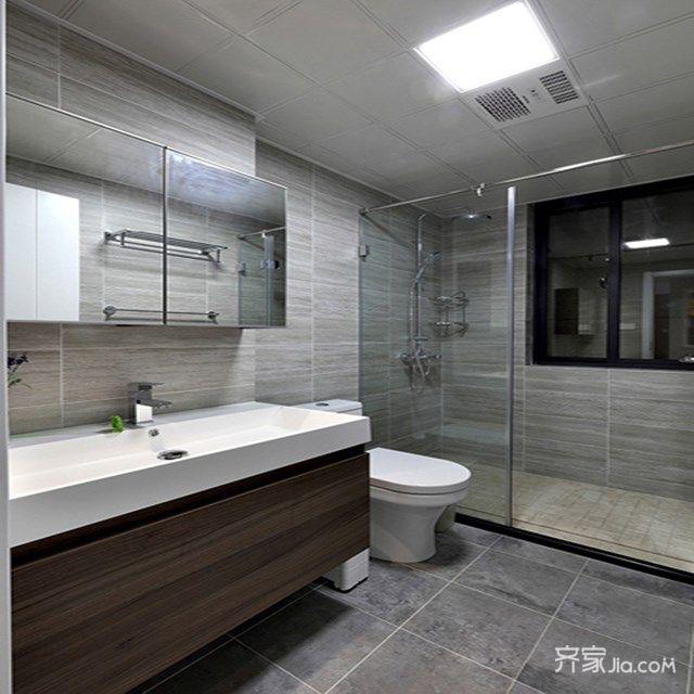 100平宜家风格二居卫生间装修效果图