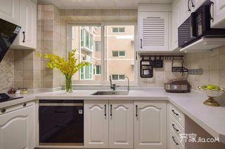 简约美式风格三居厨房装修效果图