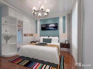135平米混搭风格卧室装修效果图