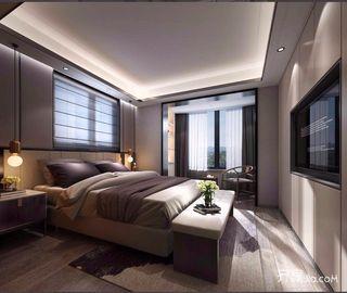 小户型新中式风格卧室装修效果图