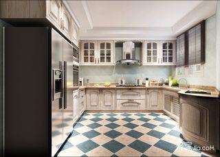 138平新中式三居厨房装修效果图