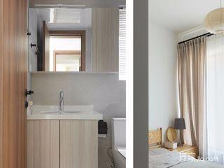 120㎡日式三居装修卫生间搭配图