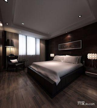 120㎡新古典风格三居卧室装修效果图