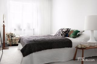 小户型简约风格装修卧室搭配图