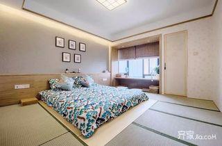 110平米日式风格卧室装修设计图