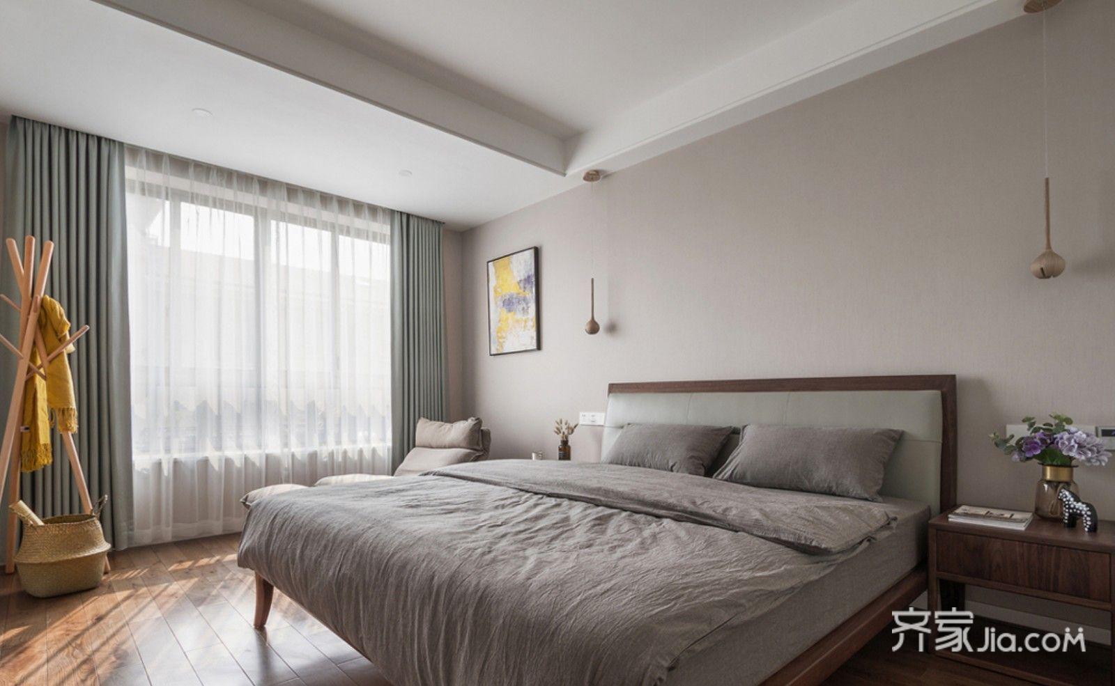 125㎡现代简约风格卧室装修效果图