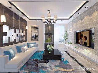 现代风格三居室装修设计效果图