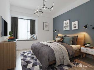 100平米现代风格卧室装修效果图