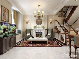 230平美式风格别墅装修效果图