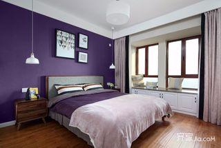 100平米北欧风三居卧室装修效果图