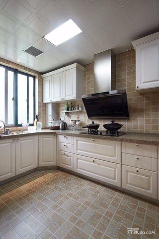 180平米欧式风格装修厨房布局图