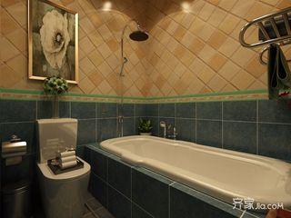 大户型美式卫生间装修效果图