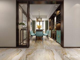 140平现代新古典风格餐厅装修效果图