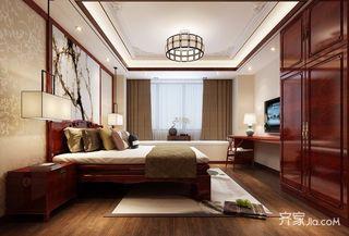 中式风格别墅装修卧室设计图