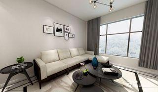 极简现代风格三居室装修效果图