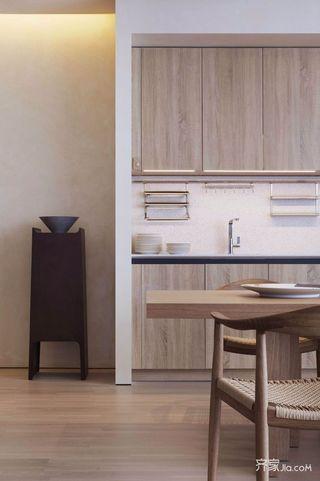 新中式风格装修橱柜设计图