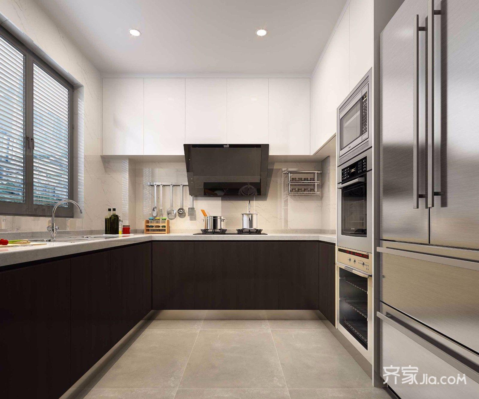 135平米现代风格厨房装修效果图