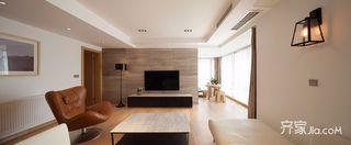 130平现代简约三居装修效果图