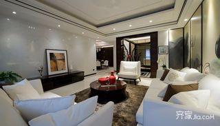 三居室新中式客厅装修效果图