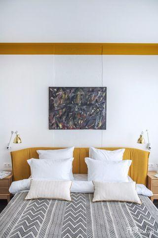 一居室小户型混搭风装修卧室搭配图