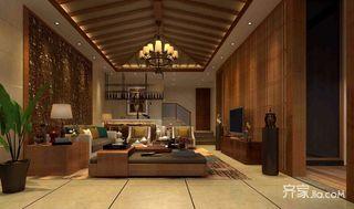东南亚风格别墅装修设计效果图
