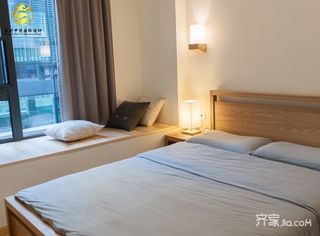 130平米日式风格装修卧室设计图