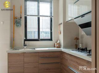 130平米日式风格装修厨房布局图