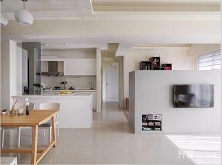 100平三居室简约装修设计图
