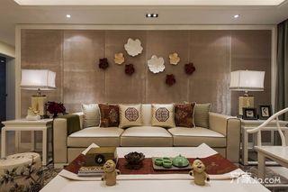 三居室现代中式风格装修效果图