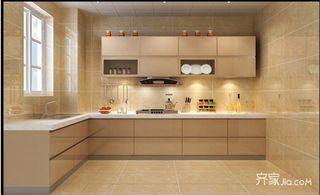 140㎡现代简约三居厨房装修效果图