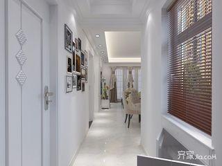90㎡现代风格三居室装修玄关效果图