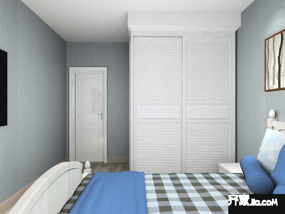 130㎡现代风格三居装修衣柜效果图