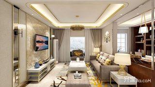 120平轻奢风格四房装修效果图