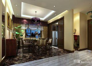 东南亚风格四房装修效果图