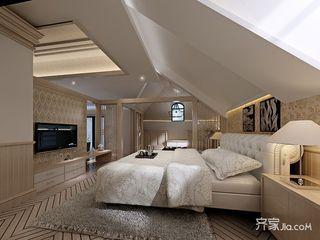 两居室混搭风格卧室装修效果图