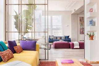 现代混搭风格公寓装修设计图