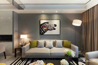 90㎡现代简约两居装修设计图