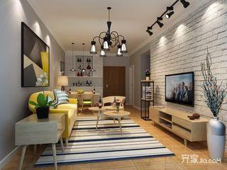 60平简约一居室装修效果图