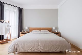 北欧风三居装修卧室布置图