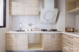 北欧风三居装修厨房构造图