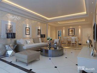 118平欧式风格三居装修效果图