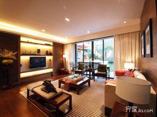 现代中式风格别墅装修设计图