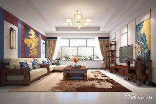 新中式三居装修设计 庄重优雅