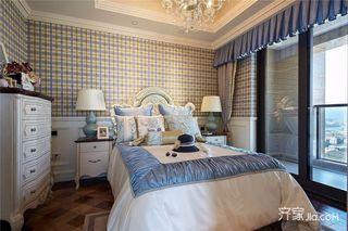 古典美式风格四房装修效果图