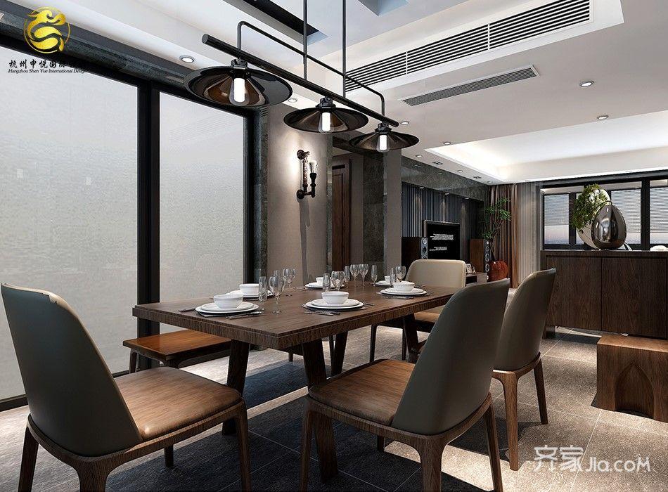 大户型后现代主义餐厅装修效果图