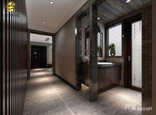 大户型后现代主义装修走廊设计图