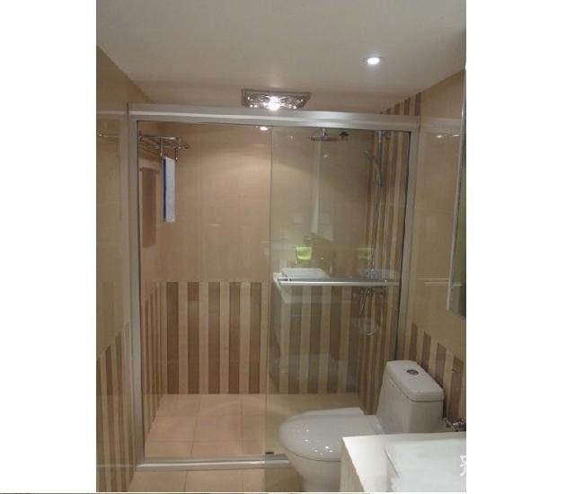 一居室小户型简约卫生间装修效果图